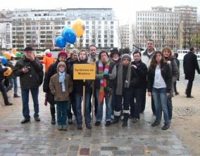Moebius Syndrome France at the March for Rare Diseases in Paris