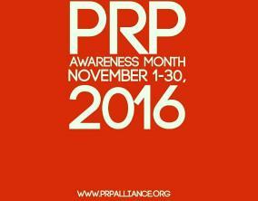 PRP AWARENESS MONTH 2016